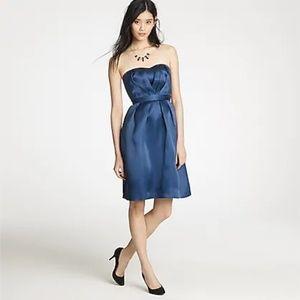 J Crew Silk Organza Petite Leah Dress